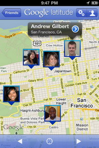 Google Latitude app for iPhone released