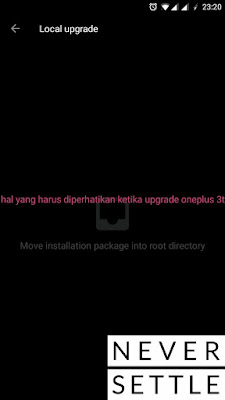 Hal yang perlu diperhatikan ketika upgrade OnePlus