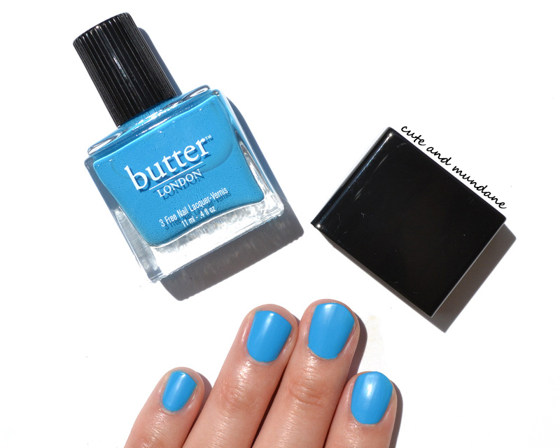 Cute And Mundane Butter London Pop Art Collection Nail Lacquer