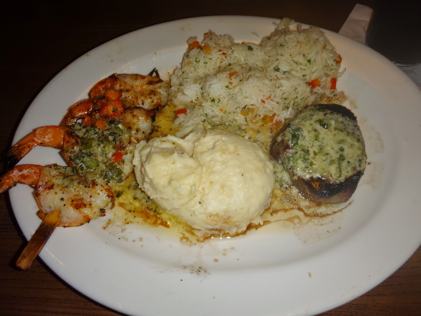 jantar no Fridays - orlando, florida