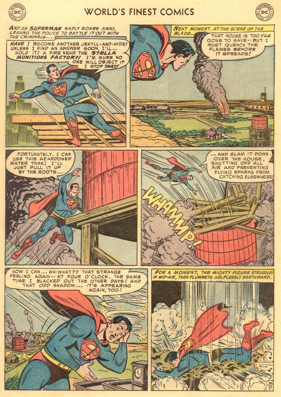 Read online World's Finest Comics comic -  Issue #70 - 10