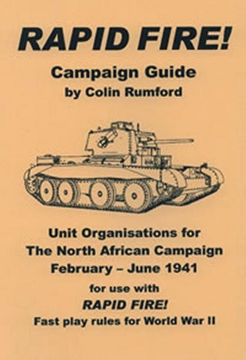 Rapid Fire Unit Organisations for The North African Campaign