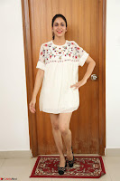 Lavanya Tripathi in Summer Style Spicy Short White Dress at her Interview  Exclusive 290.JPG