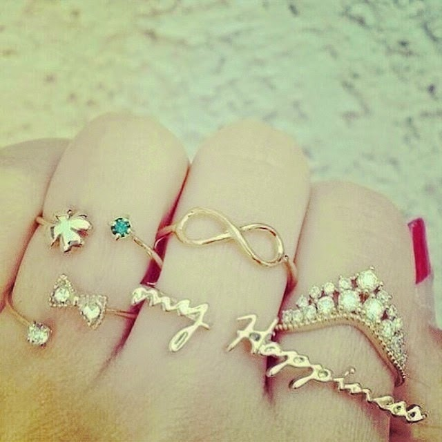 Cute & Trendy Rings For Fashion Girls