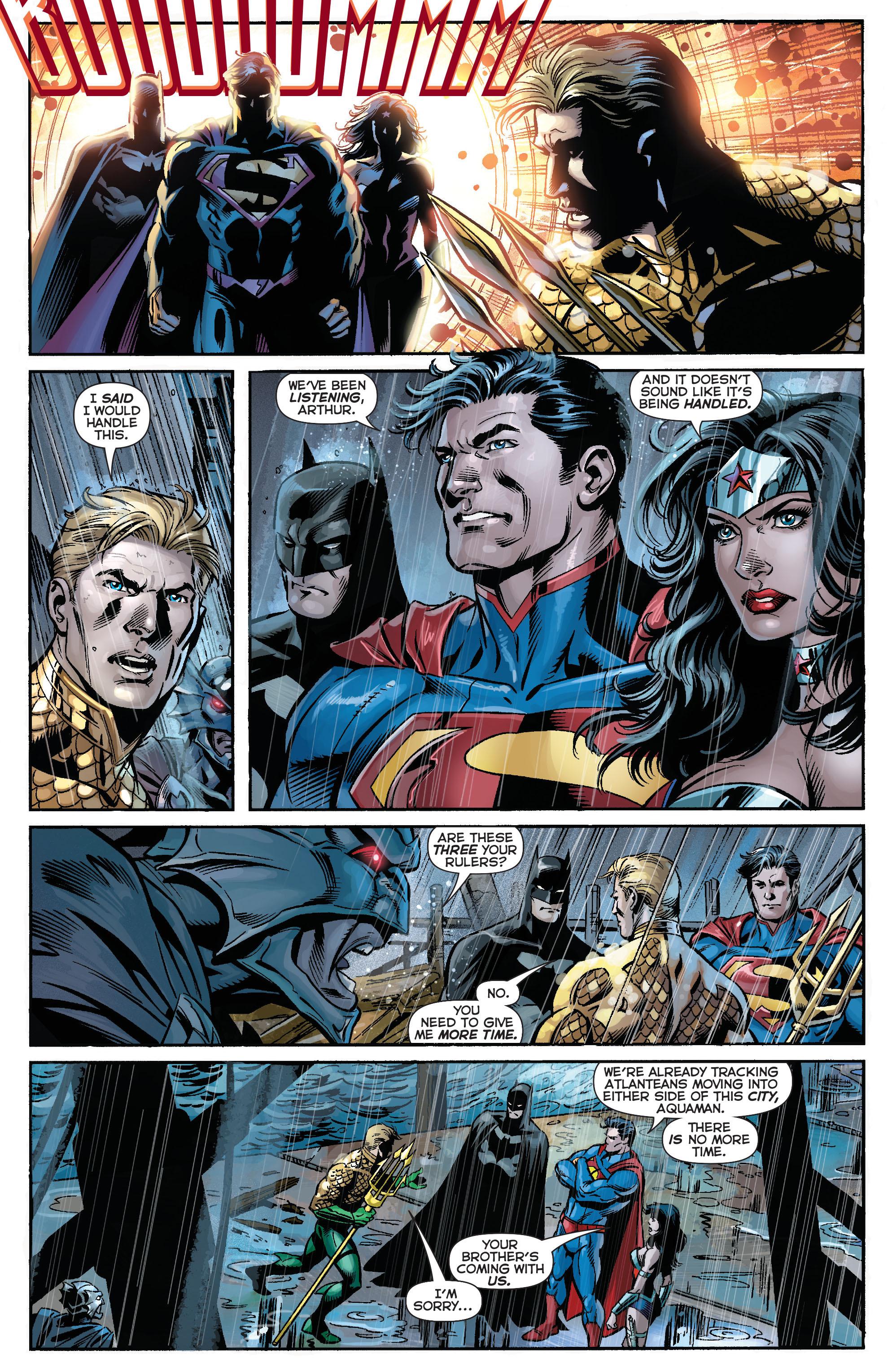 Read online Aquaman (2011) comic -  Issue #15 - 22