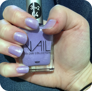 next nail varnish sweet pea review