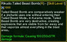 naruto castle defense 6.2 naruto Rikudo.Tailed Beast Bomb detail