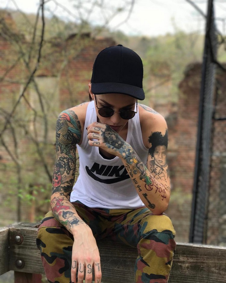 Tattoo models: Ruby Rose