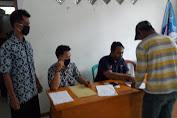 Puluhan Warga Desa Gubugan Lebak Terima BST Kemensos RI Tahap II