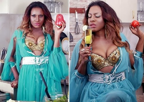 chika ike seductive pictures