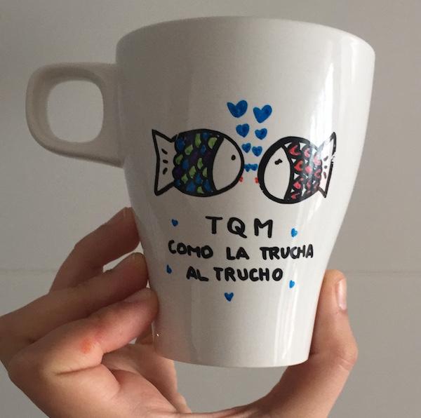 Resultado de imagen de como pintar una taza