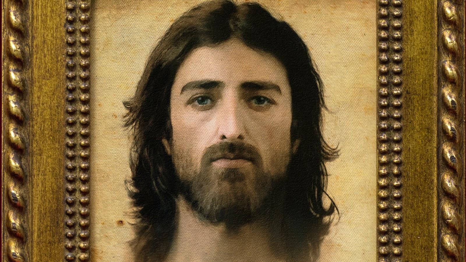 Imagem aproximada de Jesus Cristo