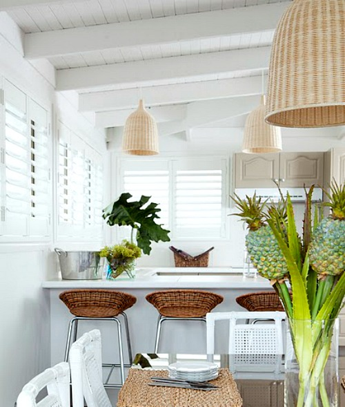 Basket Pendant Lights from Ikea