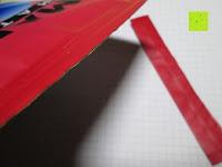 Tüte aufschneiden: 100g Original Japanischer BIO Matcha Pulver aus Uji Japan - Für Grüntee-Latte, Coldbrew Matcha, Smoothies, Backen. 0,16/Portion