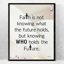 Faith Scriptural Quote Wall Art, Wall Frame in Port Harcourt, Nigeria