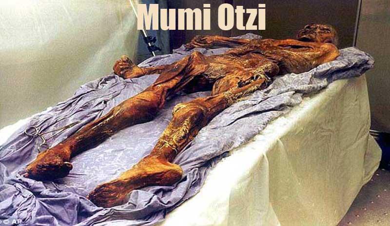Foto Mumi manusia gletser Otzi