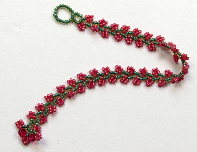 The Nepal Chain Sch Is So Pretty And Yet Easy To Bead I Have Always Liked This For Ease Of Making It You Can Make A Bracelet In Less