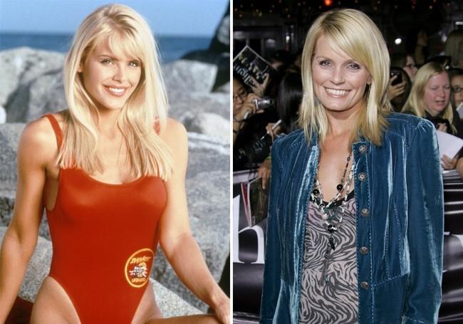 O elenco original da série Baywatch antes e depois