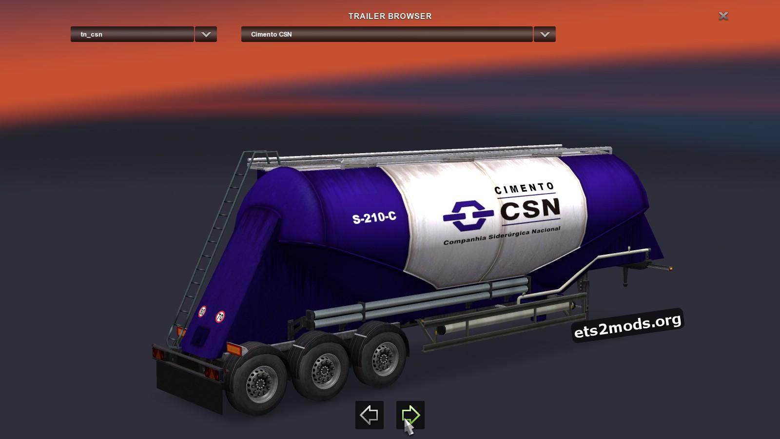 Silo Cement Pack - Brazilian Companies