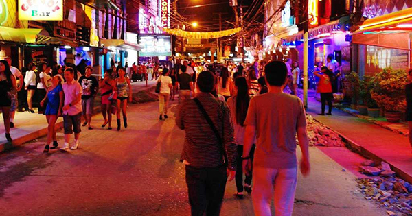 Night life in the Philippines