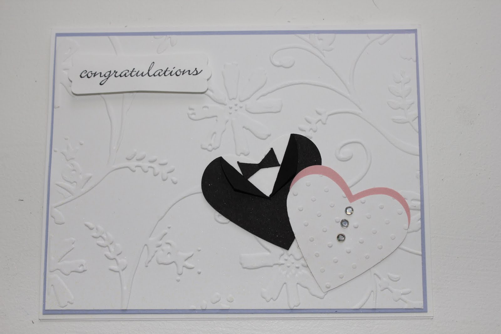 The Jessica Rabbit Show: Bride And Groom Hearts Card
