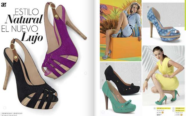 catalogo de zapatos cerrados mexicanos