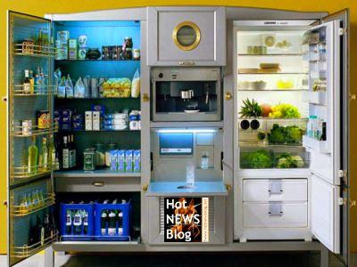 der coolste und teuerste k hlschrank der welt hot. Black Bedroom Furniture Sets. Home Design Ideas