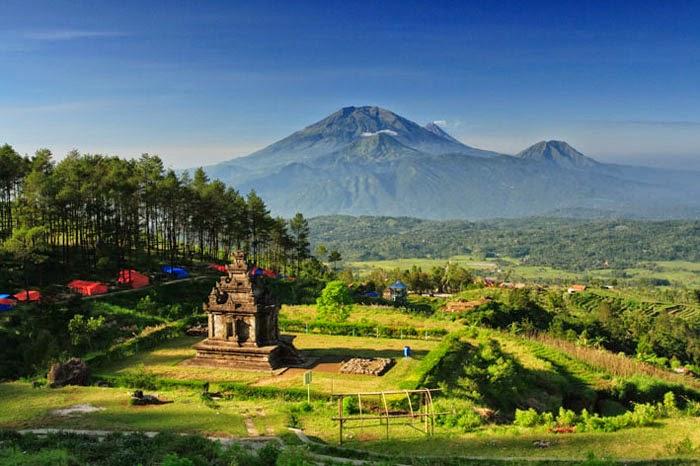 Wisata Bandungan Ambarawa - Candi Gedong Songo