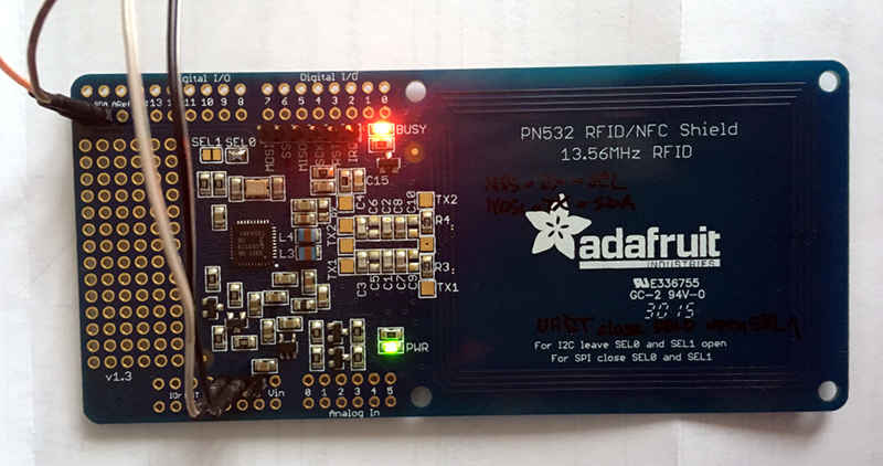 OK7MS: Using cheap RC522 NFC reader to read Mifare Ultralight C