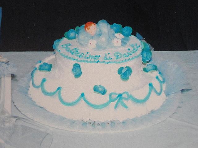 Eccezionale Babùn e altro: Torta Battesimo Bimbo SH48