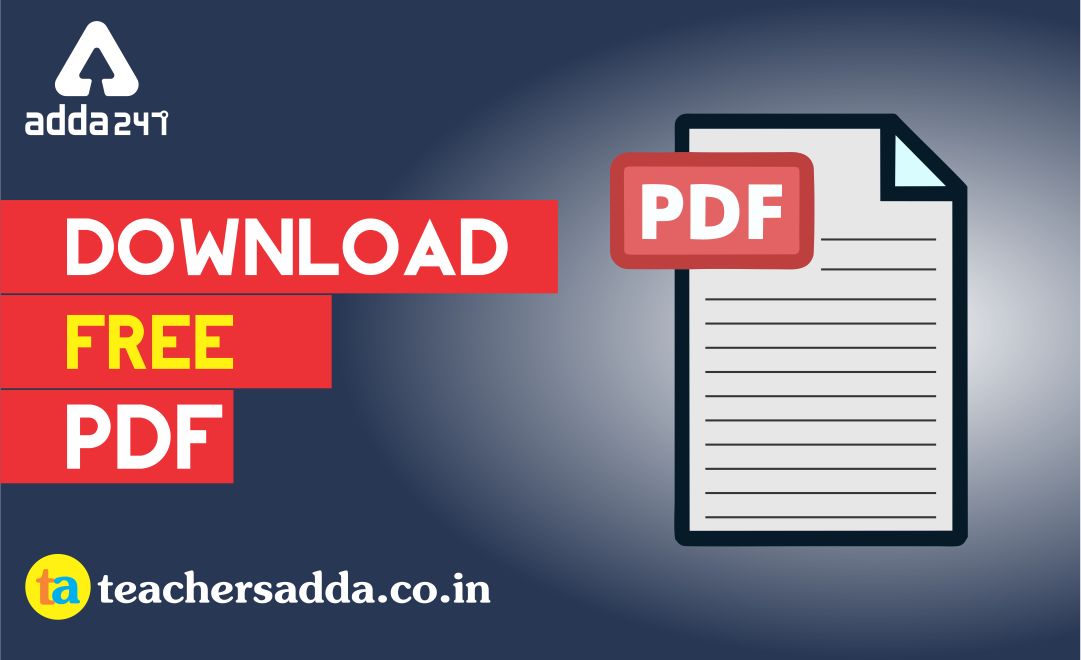 CTET 2019 | Science Free PDF Notes | Download Now