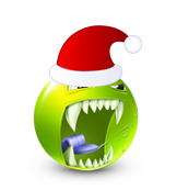 Christmas Smiley Icon 25
