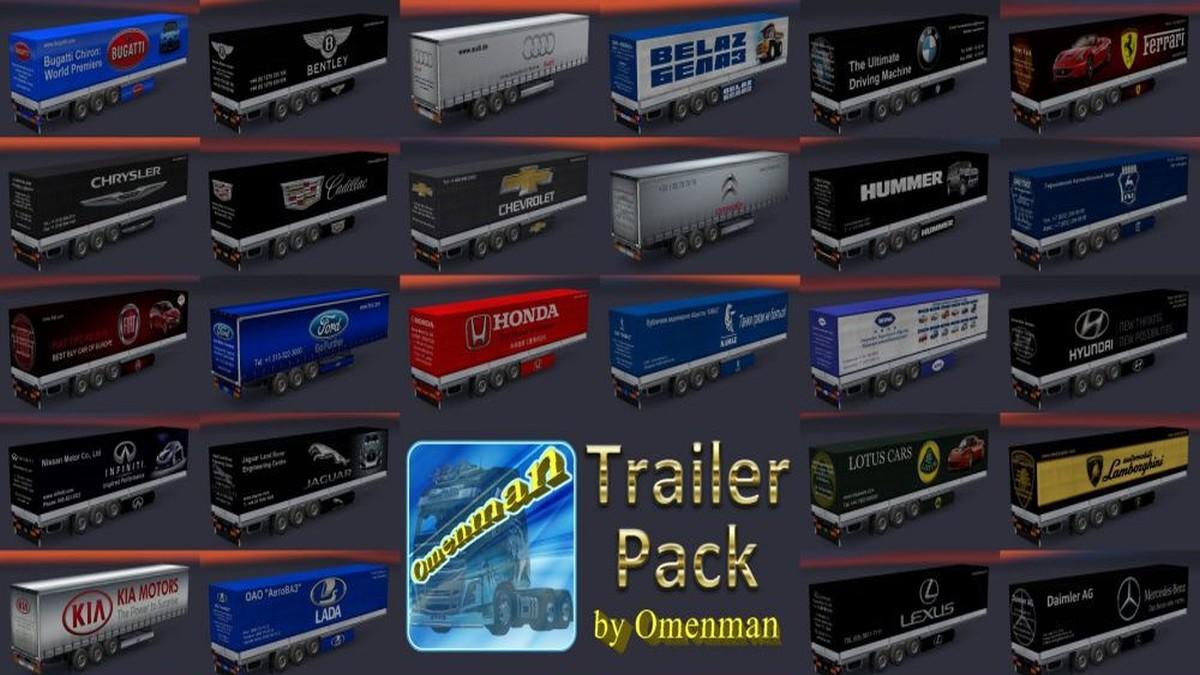 Trailers Pack Cars [V1.02]