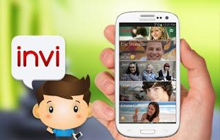 تطبيق lnvi للدردشه للهواتف الاندرويد اخر اصدار 2017