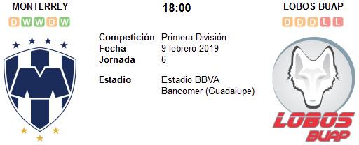 Monterrey vs Lobos BUAP en VIVO