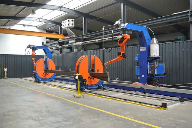 Немецкий завод металлоконструкций STAHABAU