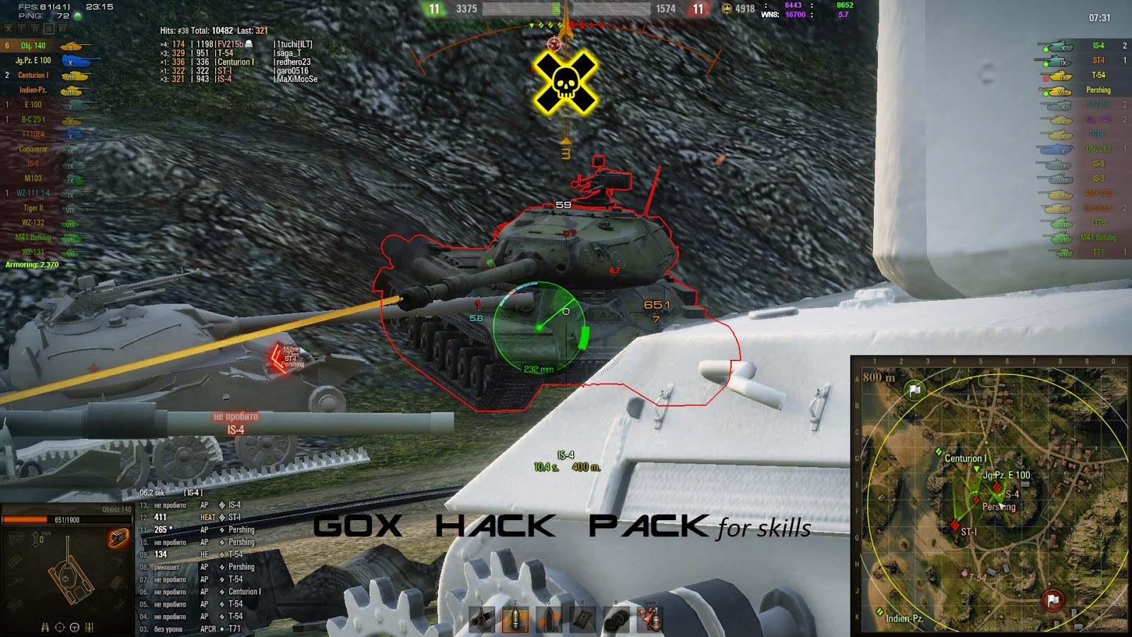 wot mod pack cheat