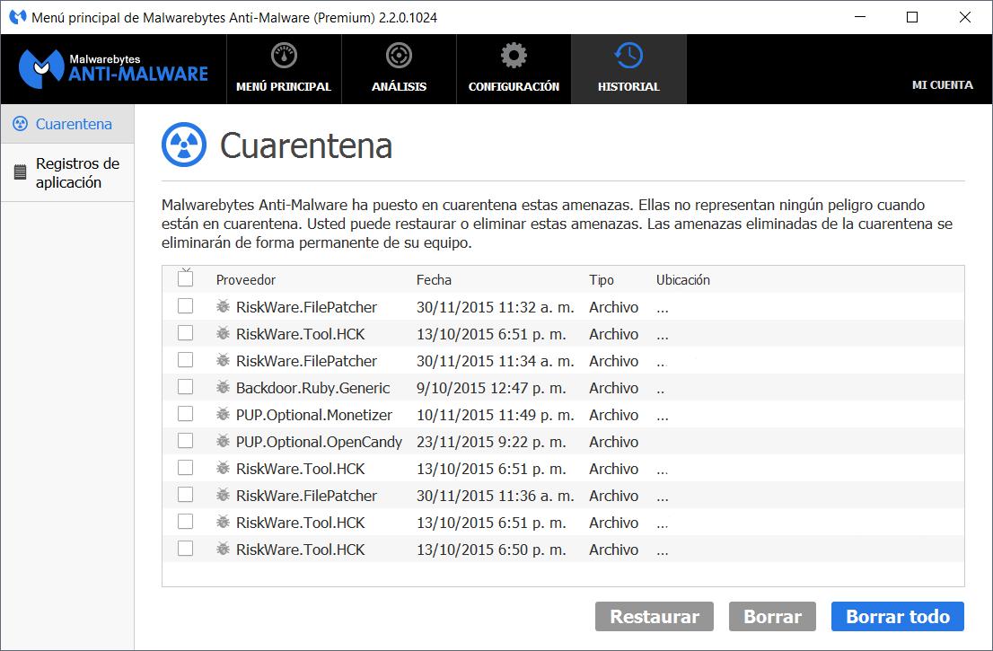 Malwarebytes Anti-Malware 2.2.0.1024 Premium