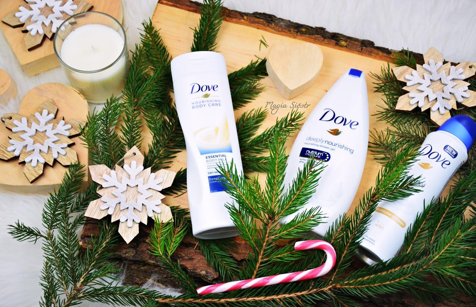 świąteczny zestaw kosmetyczny, Dove