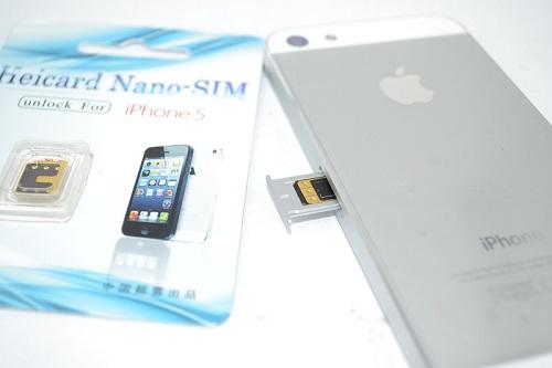 Tự cài đặt sim ghép cho iPhone 5 tại nhà