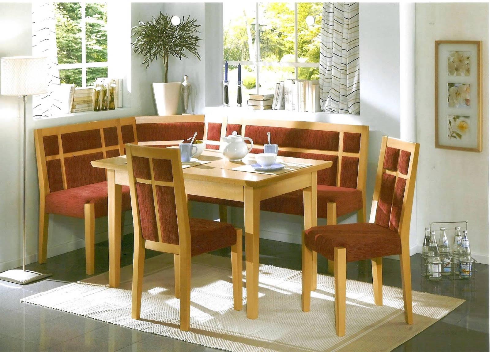 Minimalist Corner Kitchen Set