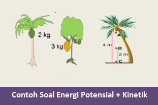 Contoh Soal Energi Potensial dan Energi Kinetik