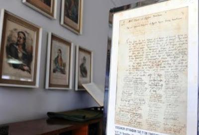 Πάτρα: Αυθεντική επιστολή του Θεόδωρου Κολοκοτρώνη και άλλα κειμήλια στο Μουσείο Τύπου