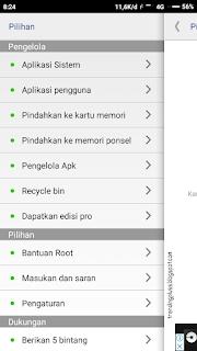 Pindahkan aplikasi ke kartu memori redmi