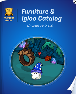 Club Penguin Furniture & Igloo Catalog Cheats November 2014
