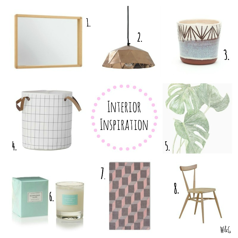 Current crushes for the home interior inspiration