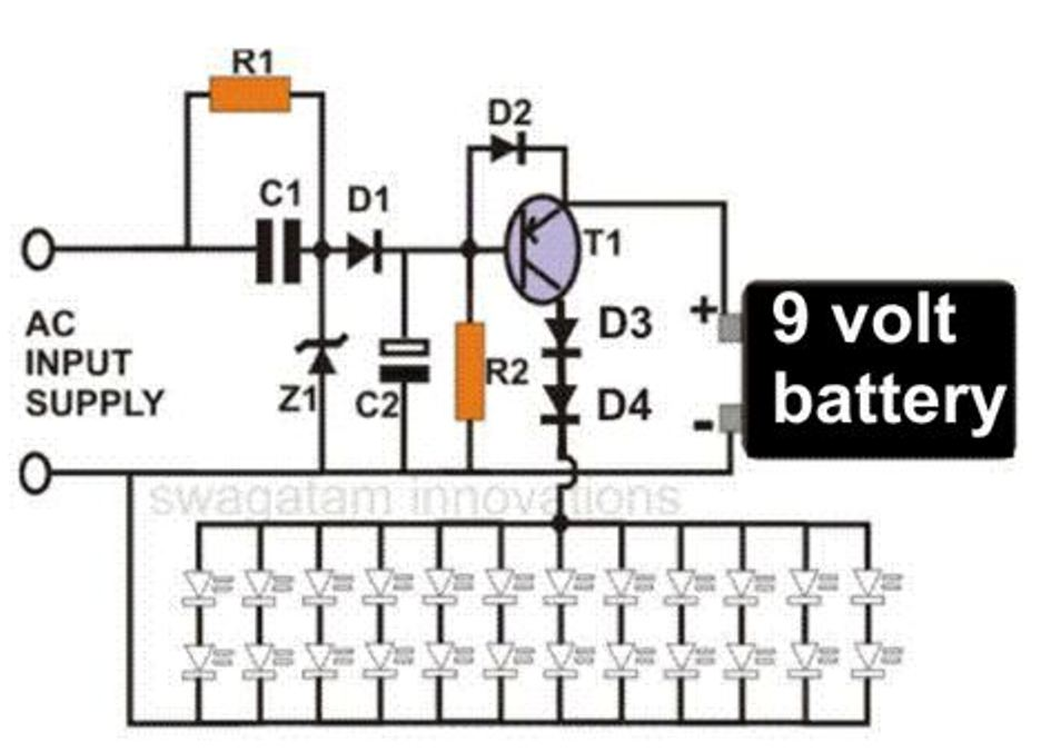 light sensitive switch circuit built with transistors