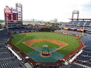 Home to center, Citizens Bank Park