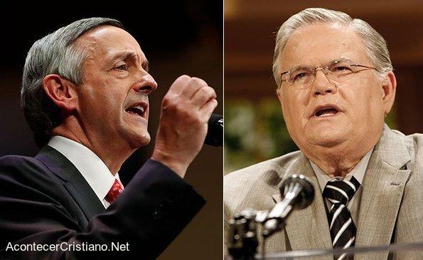 Pastores Robert Jeffress y John Hagee