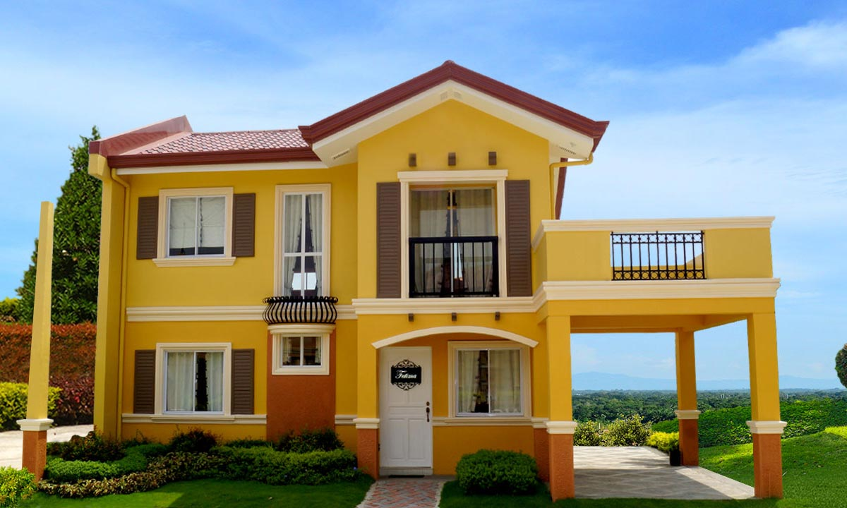 Camella homes camella altea fatima house and lot for for Houses models